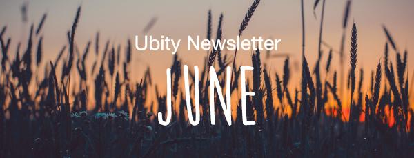 Ubity Newsletter - June