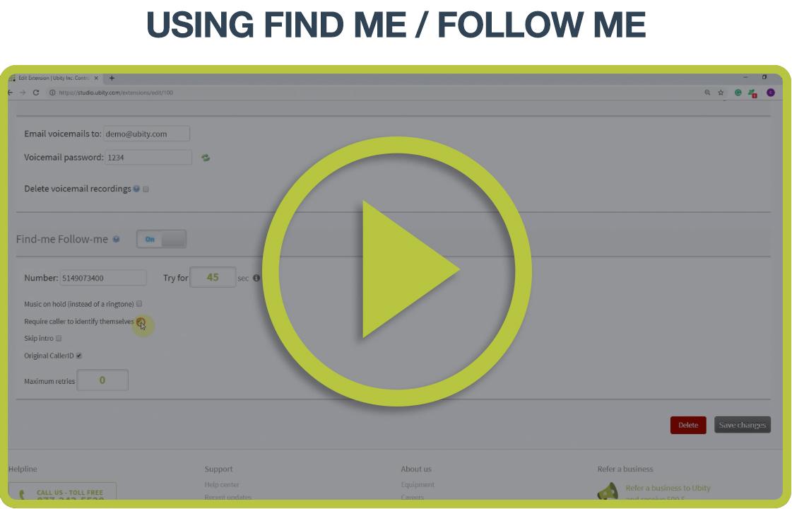 Video Tutorial: Find me/Follow me