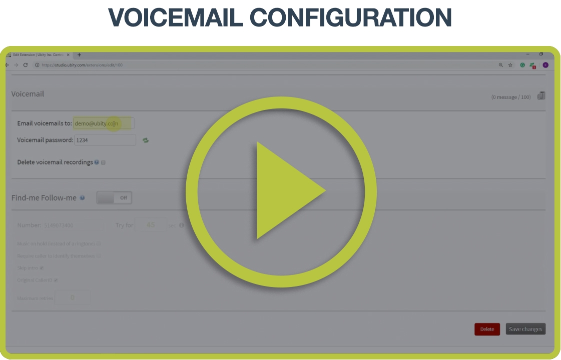 Video Tutorial: Voicemail